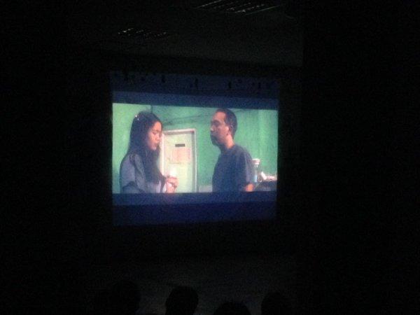 "Pemutaran film ""Susu"" saat Kineidokop, Sabtu (19/12). | Dok. Loop Station"