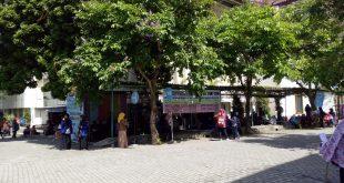 Selasa (19/7), hanya BEM dan Tutorial PAI yang diizinkan membuka stanisasi bagi mahasiswa baru. Foto oleh Danang/EKSPRESI